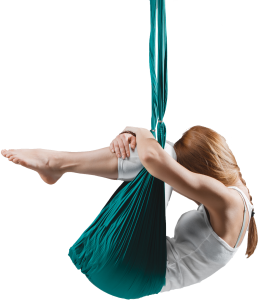 yoga swing trapeze girl